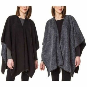 Ike Behar Reversible Fleece Fashion Wrap